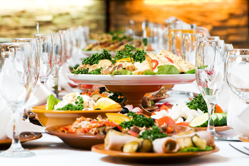luxury food catering
